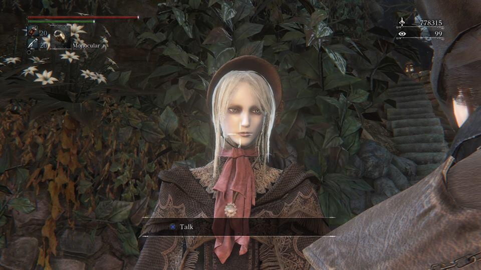 Bloodborne - Misc Characters - The Doll in The Hunter