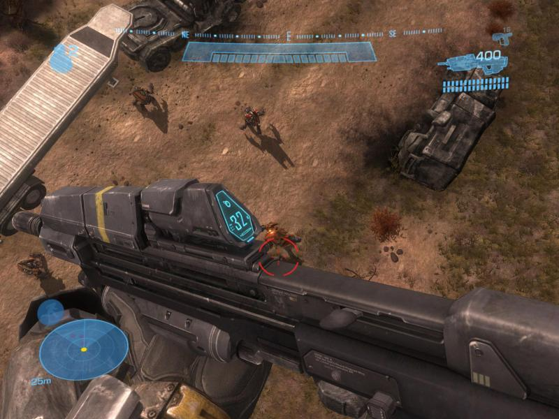 Halo: Reach - Level The Pillar of Autumn - Death from above! - User Screenshot