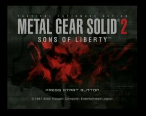 Metal Gear Solid 2: Sons of Liberty - Mini-Game  - 1 - User Screenshot