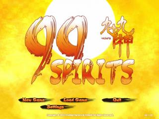 99 Spirits - Menus Title Screen - Title Screen - User Screenshot
