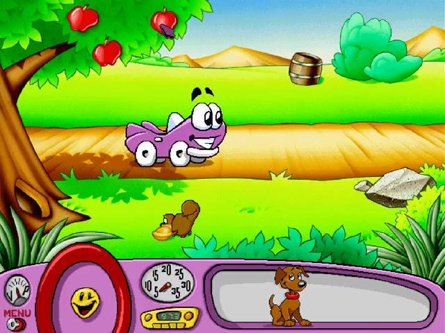 Putt-Putt -Level :Funny squirrel - User Screenshot