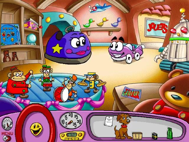 Putt-Putt -Level :Toy shop - User Screenshot