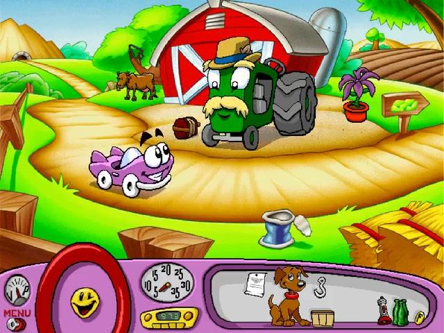 Putt-Putt -Level :The farmer - User Screenshot