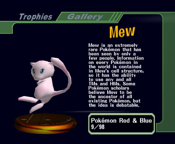 descriptive trophy