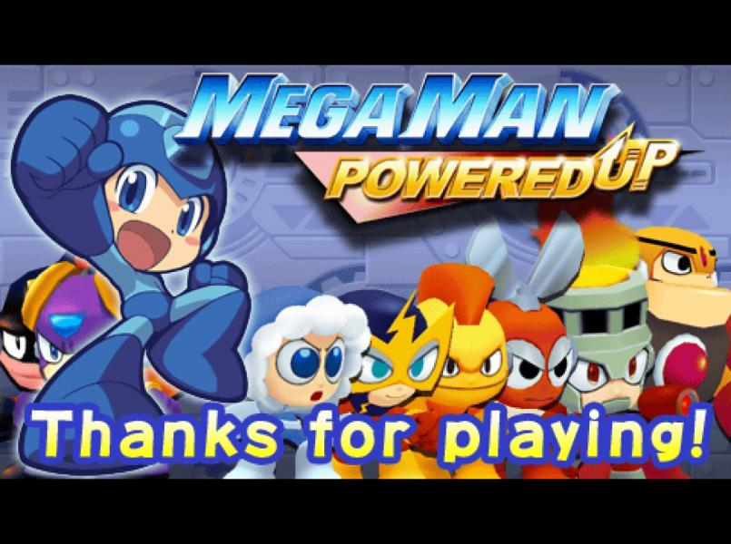 Elec Man -Ending :End of Powered Up Demo - User Screenshot