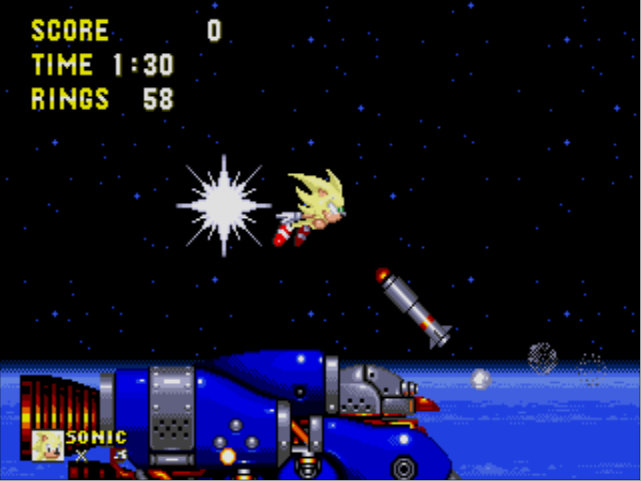 Super Sonic (Sonic the Hedgehog) - Video Game Character Profile - Vizzed