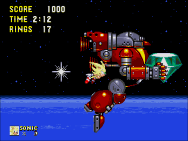 Death Egg Robot Sonic The Hedgehog Video Game Character Profile Vizzed