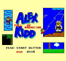 Alex Kidd - Fall of Radaxian