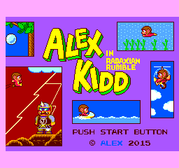 Alex Kidd in Radaxian Rumble