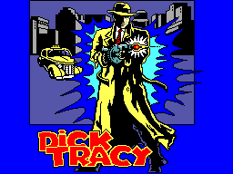 Dick Tracy Title Screen
