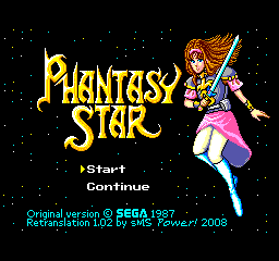 Phantasy Star (English Translation)