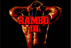 Rambo 3 Title Screen