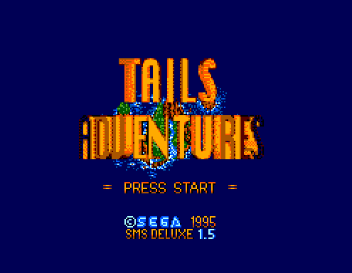 Play <b>Tails Adventures - SMS Deluxe</b> Online