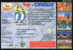 Asterix & Obelix Box Art Back
