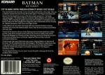 Batman Returns Box Art Back