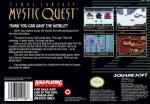 Final Fantasy - Mystic Quest Box Art Back