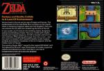 Legend of Zelda, The - A Link to the Past Box Art Back
