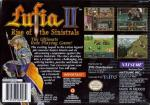 Lufia II - Rise of the Sinistrals Box Art Back