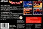 Parodius - Non-Sense Fantasy Box Art Back