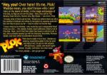 Plok! Box Art Back