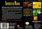 Secret of Mana Box Art Back
