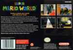 Super Mario World (hack) Box Art Back