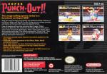 Super Punch-Out!! Box Art Back