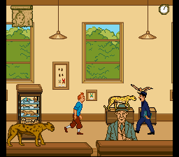 The Adventures of Tintin - Prisoners of Screenshot 2