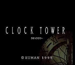 Clock Tower Title Screen