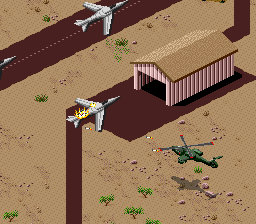 Desert Strike - Return to the Gulf Screenshot 2