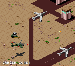 Desert Strike - Return to the Gulf Screenshot 3