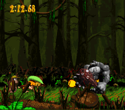Donkey Kong Country 2 - Brigand Barrage