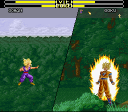 Dragon Ball Z - La Legende Saien Screenshot 1