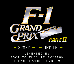 F-1 Grand Prix - Part II