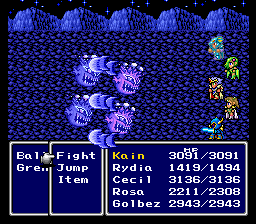 Final Fantasy II - Playable Golbez Edition