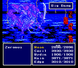 Final Fantasy II -is- Easy Type