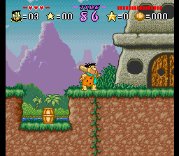 The Flintstones - The Treasure of Sierra Madrock Screenshot 2