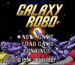 Galaxy Robo (English Translation)