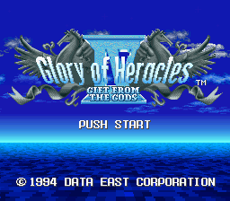 Play <b>Glory of Heracles 4 - Gift from the Gods (English translation)</b> Online