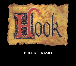 Hook Title Screen