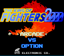 King of Fighters 2000, The