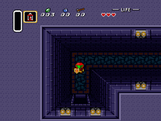 Legend of Zelda, The - A Link to the Past (Samus Hack)