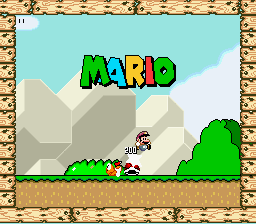 MARIO (hack) Title Screen