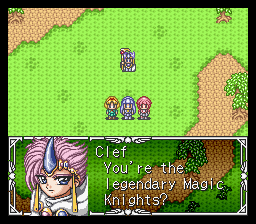 Magic Knight Rayearth Screenshot 2