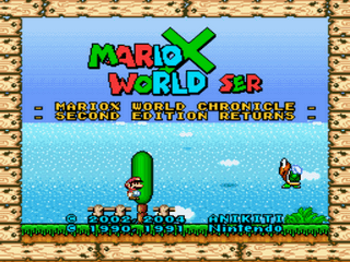 MarioX World 2nd Ed Returns