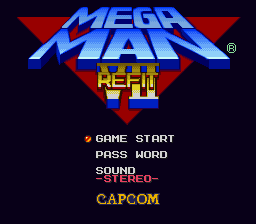 Play Mega Man 7 Refit Online SNES Rom Hack of Mega Man 7