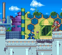 Mega Man 7 Screenshot 1