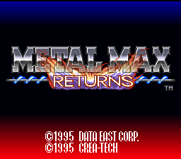 Metal Max Returns (english translation)