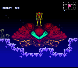 Metroid Super Zero Mission Screenshot 1
