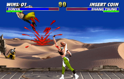Mortal Kombat 3 Screenshot 2